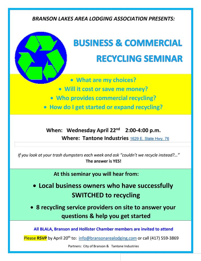 Business and Commercial Recycling Seminar Image