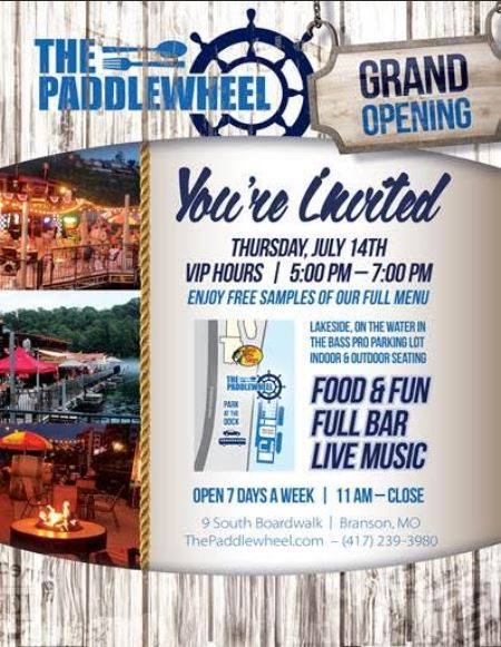 160712 Paddlewheel Grand Opening