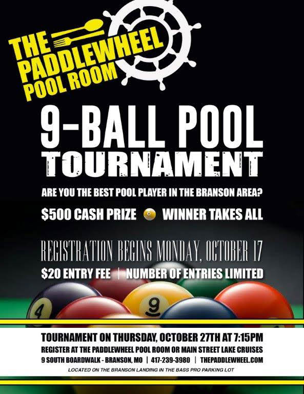 161016 Paddlewheel Pool Tournament